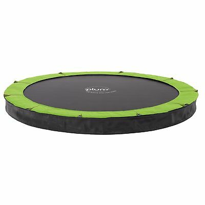 NEW Plum 8ft In-Ground Circular Trampoline Safety Pad Jumping Mat Steel Frame