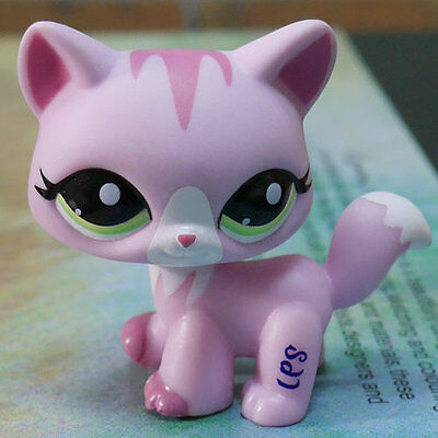 "LPS #1788 COLLECTION Action Figure PINKY CAT KITTY TOY 3"" LITTLEST PET SHOP"
