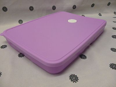 Tupperware Rectangle Pink Freezer Mate with Dial 1.2L Freezer Storage New
