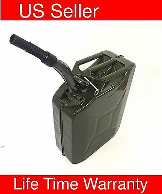 5 Gal T31 20L Jerry Can Gasoline Gas Fuel Can Emergency Backup Gas Caddy Tank