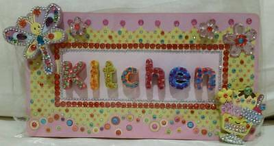 Brand New Kitchen Wooden Sign board plaque
