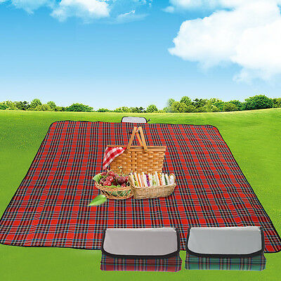 Extra Large Picnic Blanket With Waterproof Backing Australia
