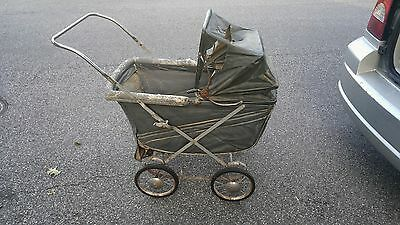 1948 Hedstrom Baby Stroller Pram Carriages Buggies Antiques Vintage - ROUGH