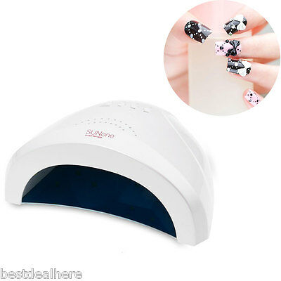 SUNone Art Dryer Curing 48W Manicure Tool UV Phototherapy Nails Gel Lamp Polish