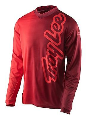 2017 Troy Lee Designs TLD GP Jersey 50/50 Red MX Motocross Off-Road