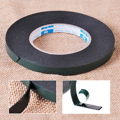 12mm Extra Strong Double Sided Foam Adhesive Car Auto Trim Body Moulding Tape 5M
