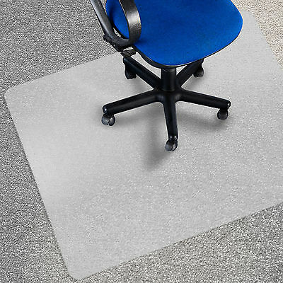 Frosted Carpet Chair Mat Pad * Computer Desk Floor Mats * Spike Protection Cover