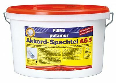 Pufas Pufamur chord-trowel AS5 8kg Filler Wall Putty putty