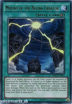 DRL3-EN053 Mound of the Bound Creator Ultra Rare 1st edition Mint YuGiOh Card
