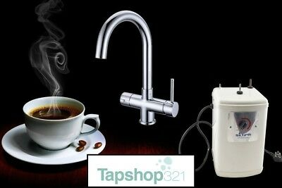 3-Way Instant Hot/Boiling Water Kitchen Tap 3 in 1 Cold Hot Water & Heating Unit