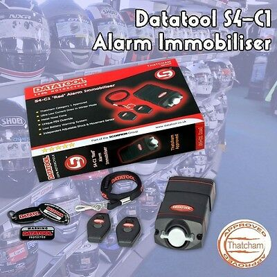 Datatool S4 C1 Red Category 1 Thatcham Approved Motorcycle Alarm Immobiliser