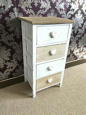 French Chic Princess Girls Bedroom Chest Of Draws Ready Assembled Wicker Draws