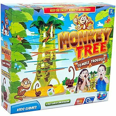 Games Hub Monkey Tree Fun Concentration Kids Family Party Board Game Toys