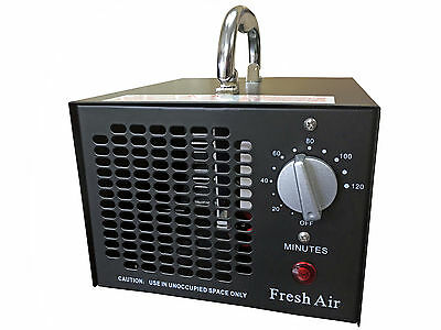 NEW COMMERCIAL INDUSTRIAL OZONE GENERATOR PRO AIR PURIFIER MOLD MILDEW 5000 mg