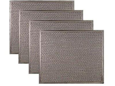 Broan K7589000 Compatible Range Hood Mesh Grease Filter Replacement (4 PACK)