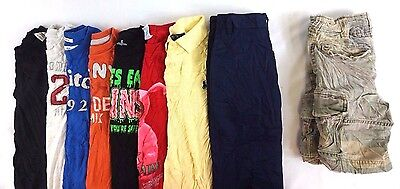Abercrombie Lot of 9 Kids Boys Polo/T-Shirts, Pants, Shorts Small S 8 [H10800]