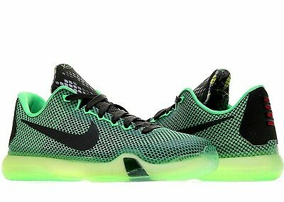 Kobe X Poison Basketball Shoes Youth Size 6.5y Green/sequoia
