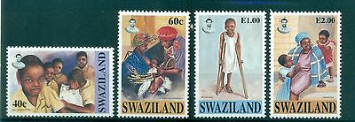 PRO INFANTIA - UNICEF 50th ANNIVERSARY SWAZILAND 1996