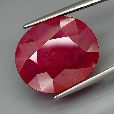 11.95 CTS EXCELENTE.RUBI  NATURAL - BIG Top Red Ruby Mozambique