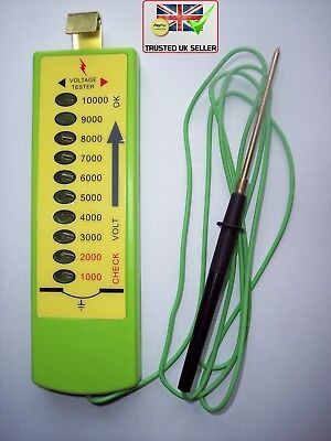 TOP SELLER*Electric Fence Tester*10 Levels*Electric Fencing Power Voltage Tester
