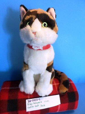 FAO Schwarz Calico Cat 2013 plush(310-2423-1)