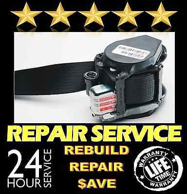 Fits Nissan Rogue Dual Stage Seat Belt Repair Reset Service