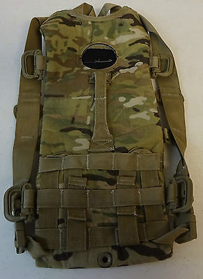 "Molle Hydration System Carrier ""Camelbak"" No Bladder Multicam Gently Used"