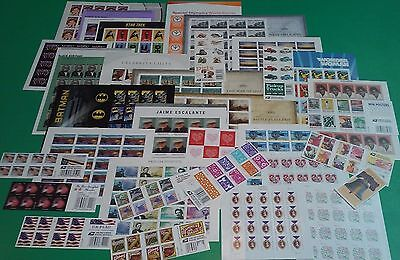 New / Mint 200 Assorted Mixed Designs FOREVER US PS Postage Stamps. FV $ 110.00