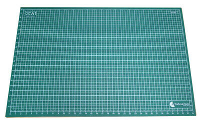 A1 - 5 Ply Self Healing Cutting Mat...printed Both Sides..metric & Imperial