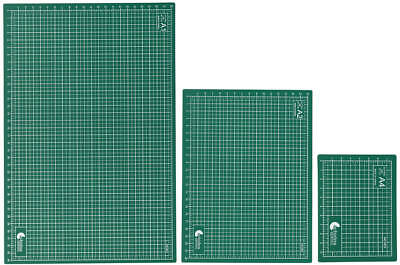 Cutting Mat Set Of 3 (A1, A2, A4) Self Healing Cutting Mats