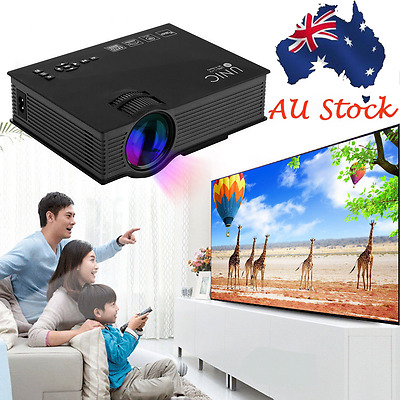 Full HD 1080P Home theater AV IN/SD/USB/VGA/HDM WIFI LCD LED Projector UNIC UC46