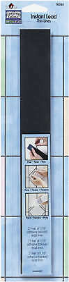 """Gallery Glass Instant Lead Lines 12"""" 21/Pkg Black .0625"""" Thick 16092"""