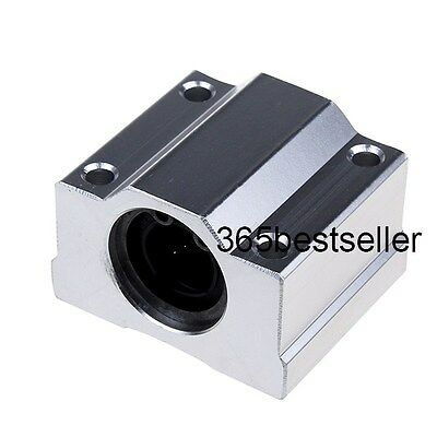 1/2/4pcs SC12UU SCS12UU 12 mm Linear Ball Bearing Slide Unit Pillow CNC