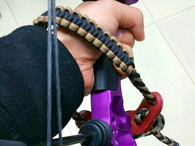 Archery Bow Braided Nylon Paracord Wrist Sling Hang Strap for Compound Bow