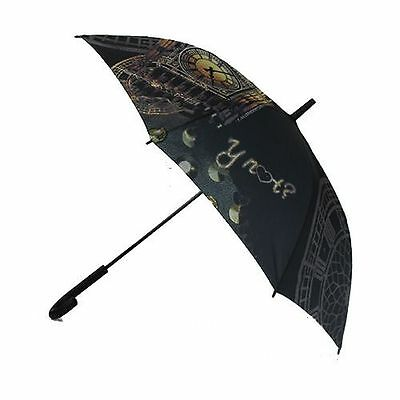 Y Not? Compact London Lines Night Folding Umbrella Latest Design