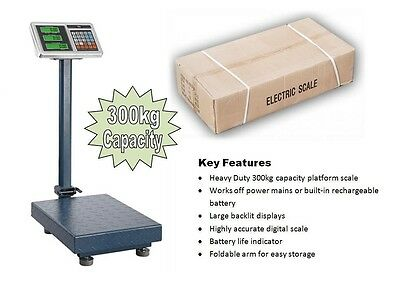 300kg Industrial Warehouse Commercial Parcel Platform Digital Weigh ing Scale