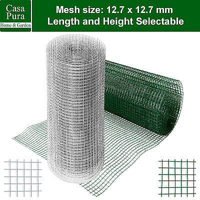 Welded Garden Wire Mesh Fencing Net * Square Fence Rabbit Panels * Plant Support