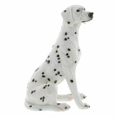 Sitting Dalmation Gift Collectable New Polished Stone Effect 68712
