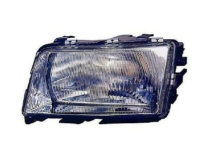 AUDI 100 C-4 1990-1994 left front head lamp lights for right-hand traffic