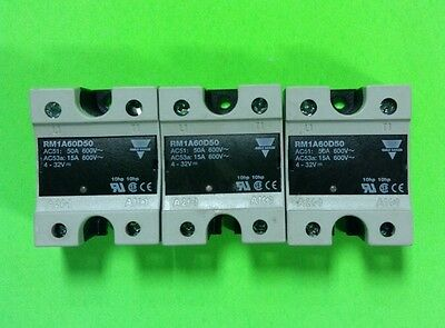 Carlo Gavazzi RM1A60D50 Solid State Relay, Lot Of 3