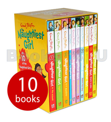 The Naughtiest Girl 10 Book Box Set Collection Enid Blyton Brand New £49.90