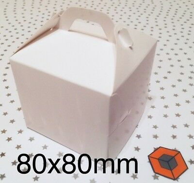 30 Single Individual Cupcake / Muffin Boxes - Bargain