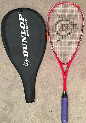 Dunlop Fury 30 Squash Racquet Red / White Adults 27inch
