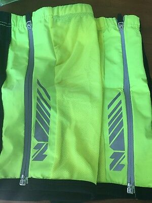 New -Netti- Reflective Mesh Ankle For Cyclists Size Xs