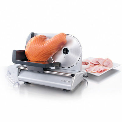 Meat & Food Slicer Cheese Fruit Bread Vegetables Cutter Maxim 200W