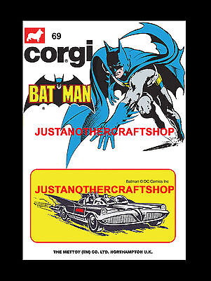 Corgi Husky Juniors 1205 Man From Uncle Large A3 Size Poster Advert Leaflet Sign