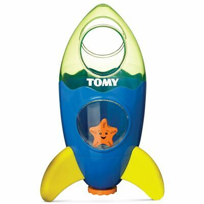 Tomy Baby Infant Toddler Bath time Fun Fountain Rocket 12M+ New