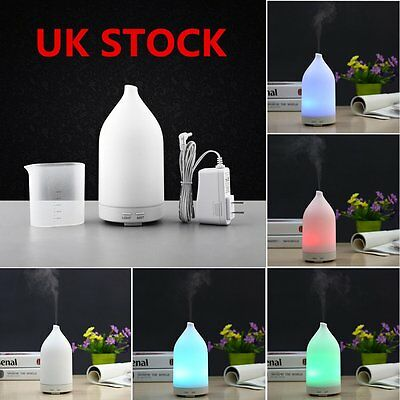 Electric Oil Essential Burner Aroma Diffuser LED Air Purifier Mist Dusting Fresh