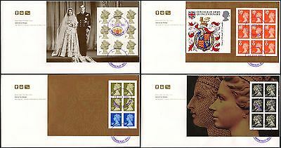 Gb Prestige Booklet Fdc Buckingham Palace Cds 2000 Special By Design Court P.o