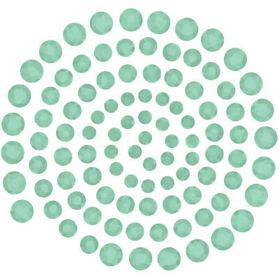 Couture Creations Self Adhesive Gemstones 100/Pkg Green Envy CO721991